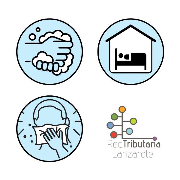 Medidas administrativas en la Red Tributaria Lanzarote durante la incidencia del coronavirus COVID-19
